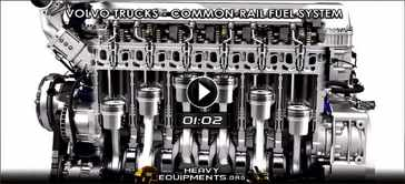 Common-Rail Fuel System for Volvo Trucks' D11 & D13 Engines Video