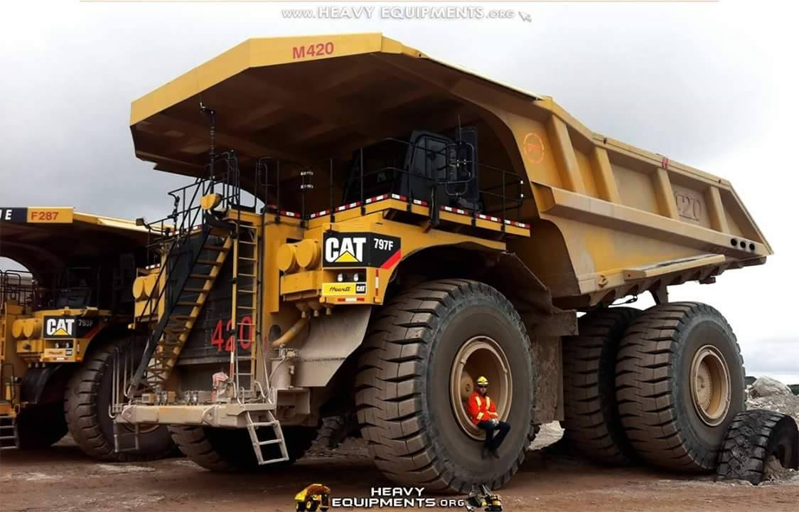 The Best Caterpillar 797F Mining Truck ...