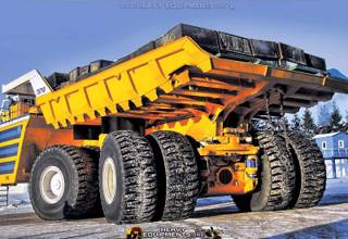 The Largest Belaz 75710 Mining Truck of the World
