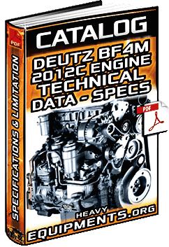 specalog deutz bfmc engine technical data specifications heavy equipment