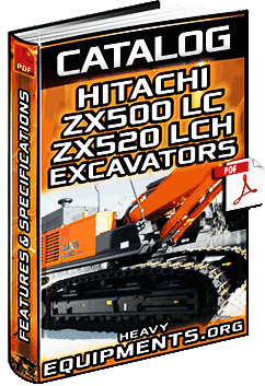 Hitachi ZX500LC & ZX520LCH Hydraulic Excavators Catalogue Download
