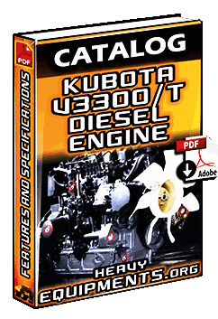 Kubota V3300T Engine Catalogue Download