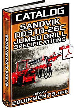 Sandvik DD310-26C Jumbo Drill Catalogue Download