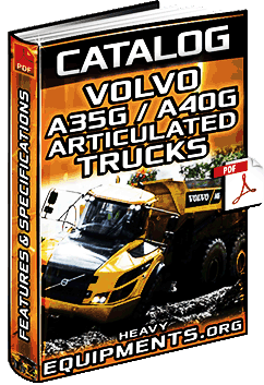 Download Volvo A35G & A40G Articulated Dump Trucks Catalogue