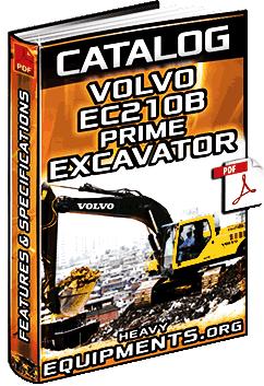 Specalog: Volvo EC210B Prime Excavator - Features