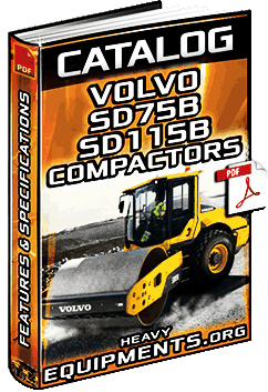 Volvo SD75B & SD115B Compactors Catalogue
