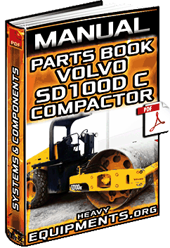 Volvo SD100D C Vibratory Compactor Parts Book Manual Download