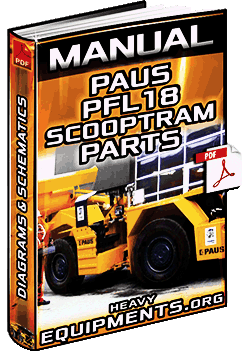 Parts Manual Paus Pfl18 Underground Loader Lhd