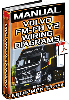service manual: volvo fm & fh v2 trucks wiring diagrams - components |  heavy equipment  heavy equipment