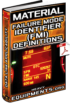 Download Failure Mode Identifier FMI Material