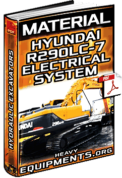 download hyundai r290lc-7 hydraulic excavator electrical system material