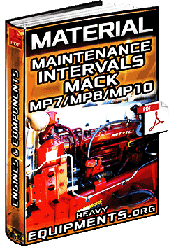 Maintenance Intervals for the Mack MP7, MP8, MP10 Engines Material
