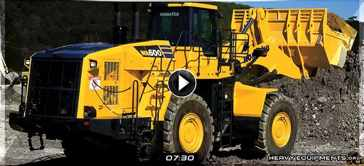 Pre-Operation Inspection on the Komatsu WA600-8 Wheel Loader Video