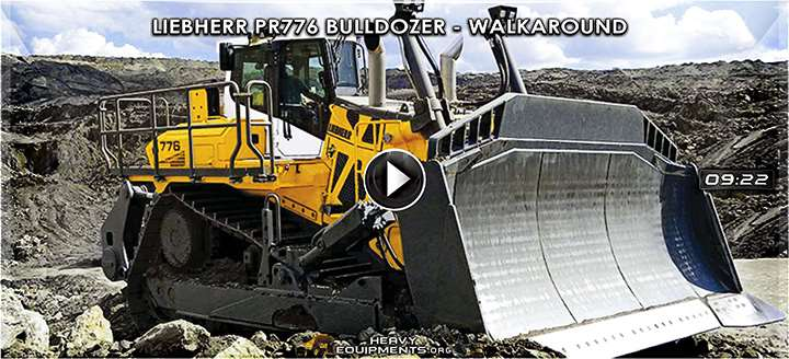 Liebherr PR776 Bulldozer Video