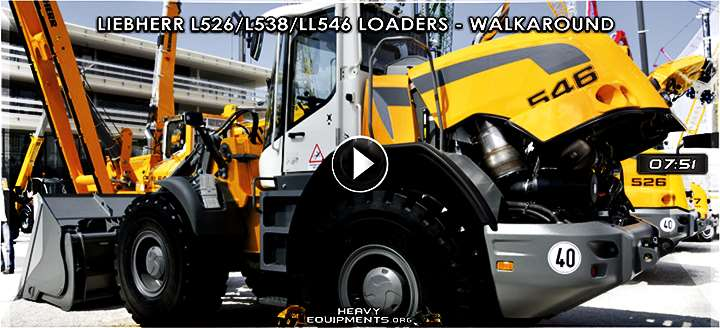Liebherr L526, L538 & L546 Wheel Loaders Video