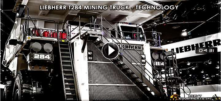 Video for Liebherr T284 Mining Truck Video