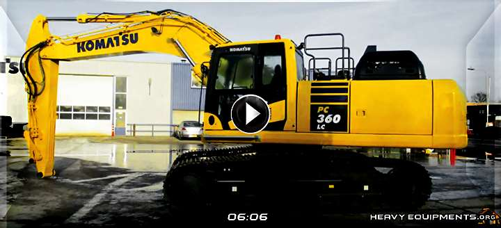 Pre-Operation Inspection on the Komatsu PC360LC-11 Hydraulic Excavator Video