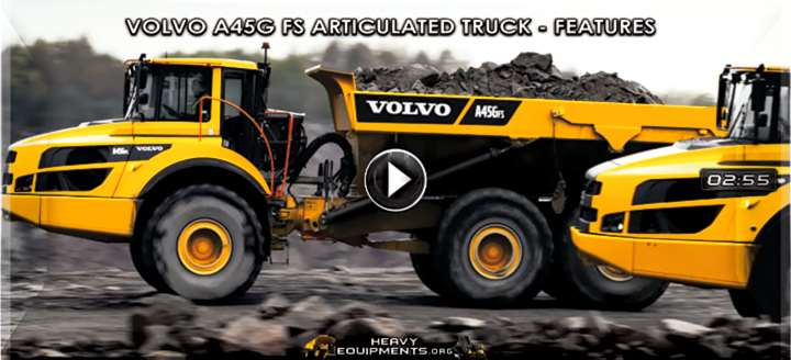 Volvo A45G FS Articulated Dump Truck Video