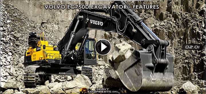 Volvo EC750D & EC750D L Hydraulic Excavators Video