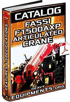 Specalog for Fassi F1500AXP Articulating Crane - Specs