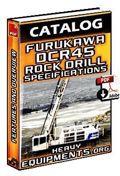 Furukawa DCR45 Rock Drill Specs