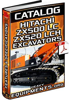 Specalog: Hitachi ZX500LC & ZX520LCH Hydraulic Excavators - Specs