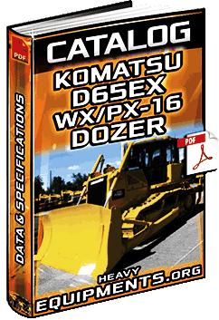 Specalog for Komatsu D65EX/WX/PX-16 Crawler Dozer - Specs