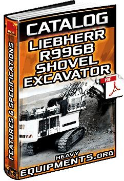 Specalog: Liebherr R996B Hydraulic Shovel & Mass Excavator - Specs