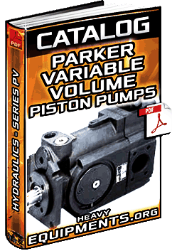 Catalog for Parker Hydraulics Series PV Variable Volume Piston Pumps