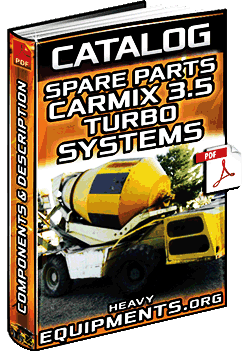 Spare Parts Book for Carmix 3.5 Turbo Concrete Mixer – Components