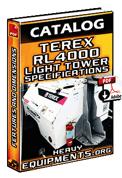 Terex RL4000 Light Tower Specifications