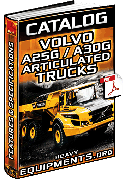 Specalog for Volvo A25G & A30G Articulated Dump Trucks - Specs