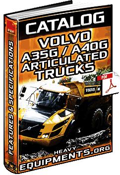 Specalog: Volvo A35G & A40G Articulated Dump Trucks - Specs