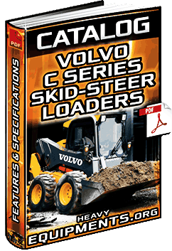 Specalog for Volvo C Series Skid-Steer Loaders – Features & Specs