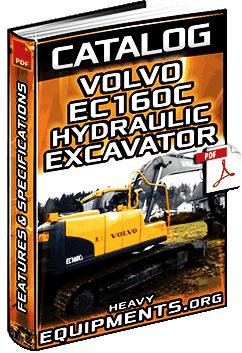 Specalog for Volvo EC160C/L/NL Hydraulic Excavator – Specs