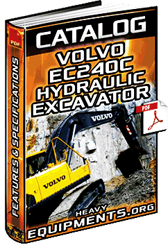 Specalog for Volvo EC240C Hydraulic Excavators – Features & Specifications
