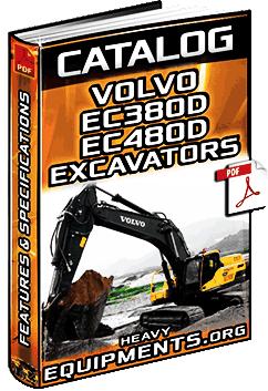 Specalog for Volvo EC380D & EC480D Hydraulic Excavators - Specs