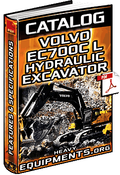 Specalog for Volvo EC700CL Hydraulic Excavator - Specs