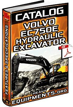 Specalog for Volvo EC750E Hydraulic Excavator - Specs