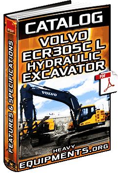 Specalog for Volvo ECR305C L Hydraulic Excavator – Specs