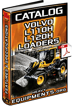 Specalog for Volvo L110H & L120H Wheel Loaders – Features & Specs