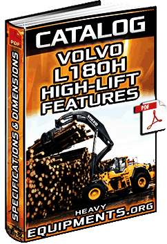Specalog for Volvo L180H High-Lift – Specs