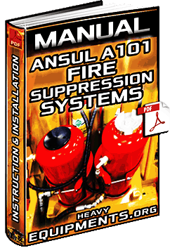 Ansul A101 Fire Suppression Systems for Heavy Equipment – Instruction Manual