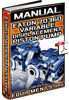 Manual for Eaton 70360 Variable Displacement Piston Pump – Parts & Repair