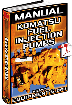 Manual: Reusable Parts of Komatsu Fuel Injection Pump - Failures & Diagnosis