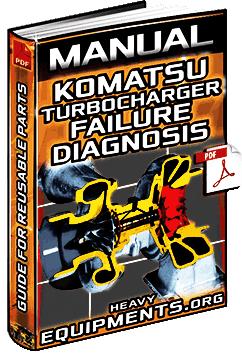 Manual: Reusable Parts of Komatsu Turbocharger – Failure, Diagnosis, Causes