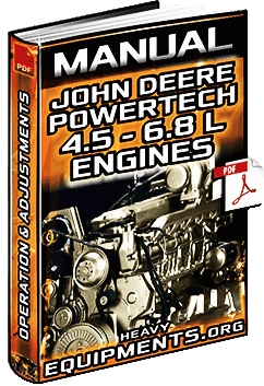 Manual: John Deere PowerTech 4.5L & 6.8L Diesel Engines - Repair, Diagnostic & Tools