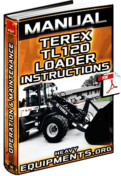 Manual: Terex TL120 Wheel Loader - Operation & Maintenance Instructions