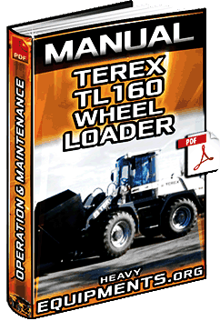 Manual: Terex TL160 Wheel Loader - Operation, Maintenance & Specifications