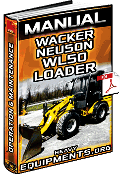 Manual for Wacker Neuson WL50 Wheel Loader - Operation & Maintenance